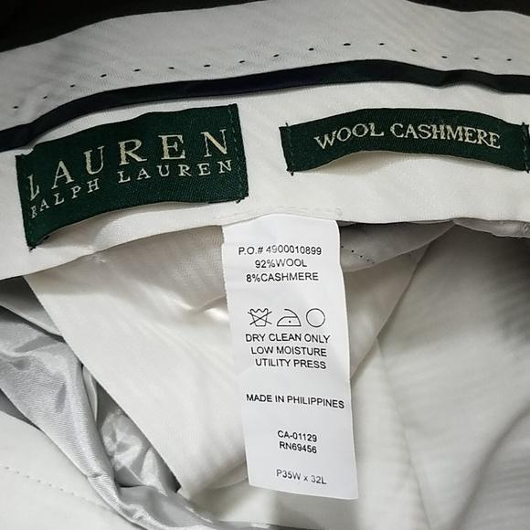Lauren Ralph Lauren Other - Vintage cashmere wool blend pants